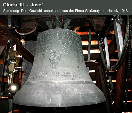 Glocke III  -  Josef