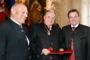 LH Luis Durnwalder, Karl Handl, LH Günther Platter