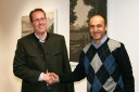 Bgm. Dr. Markus Moser mit Vbgm. Thomas Thurner