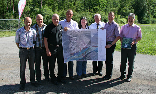 Landschaftsschutzgebiet Milser Au, Gruppe der Projektbeteiligten