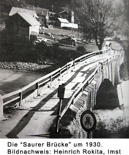 Alte Saurer Brücke in Schönwies