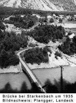 Brücke bei Starkenbach um 1935