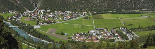 Panoramabild Mils bei Imst öffnen