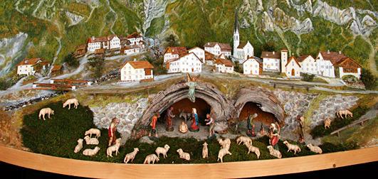 Weihnachtskrippe in Mils bei Imst, Herbert Praxmarer, 2012