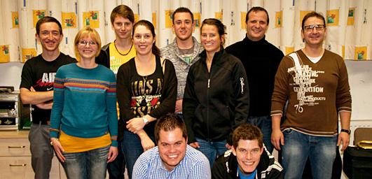 Neuer Ausschuss der Musikkapelle Mils bei Imst, 2013