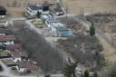 Siedlungsgebiet Mils bei Imst, März 2010