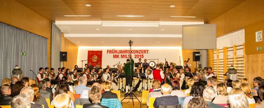 Frühjahrskonzert 2015 der Musikkapelle Mils bei Imst