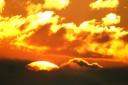 Sonnenaufgang Venetalm, Richtung Tschirgant