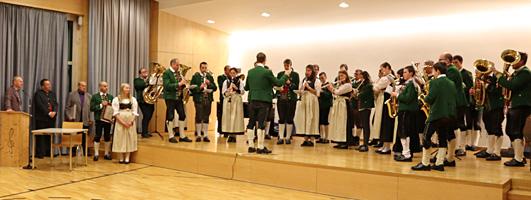 Musikkapelle Mils bei Imst - Ehrungen 2019